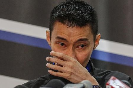 Tears as badminton superstar Lee Chong Wei quits after cancer battle
