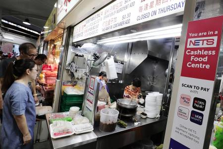 Hawker centres still top choice for locals