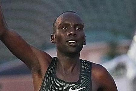Singapore marathon runner-up fails dope test