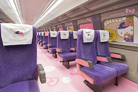 Five cute JR trains