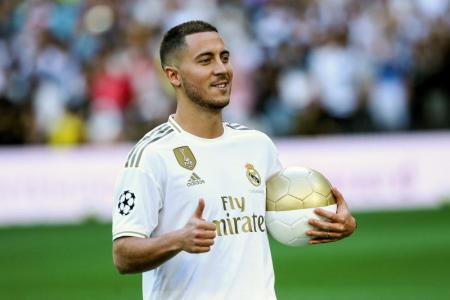 Hazard wants to become Real Madrid 'galactico'