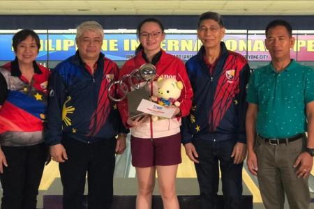 Singapore bowler Amabel Chua, 19, clinches first senior title