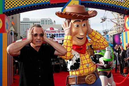 Tom Hanks: Filming Toy Story 4 'exhausting in the best way possible'
