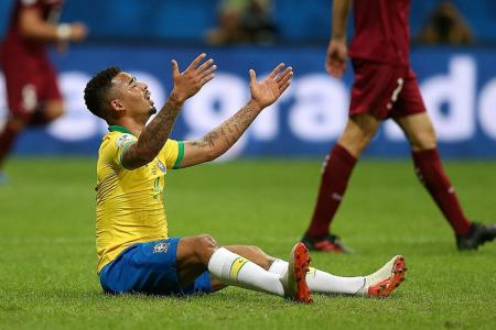 Brazil coach Tite defends tactical changes in dull draw