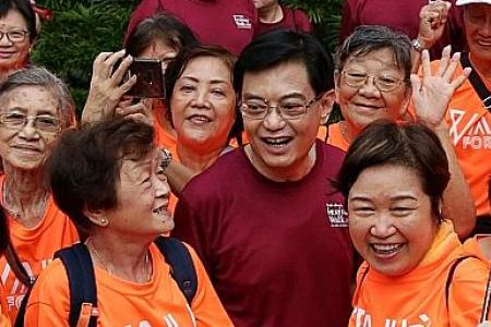 S'poreans need to be prepared to stay healthy in old age: DPM