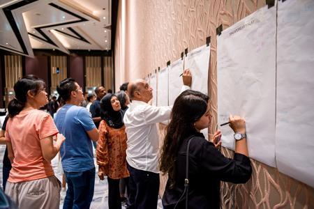 Participants describe experiences of prejudice at dialogue