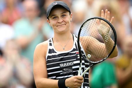 Australia piles praise on top-ranked Ashleigh Barty