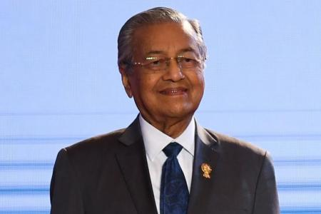 Mahathir will not stay PM 'beyond three years'
