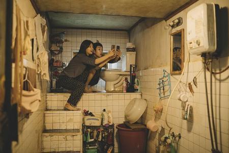 Cannes winner Parasite captures wealth gap in 'basic unit of life'