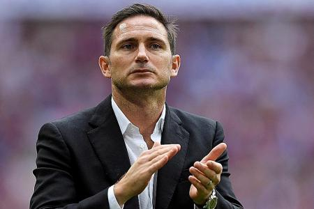 Derby County give manager Frank Lampard permission to speak to Chelsea