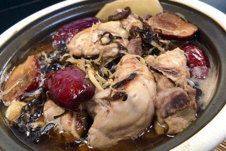 Hakka yellow wine chicken