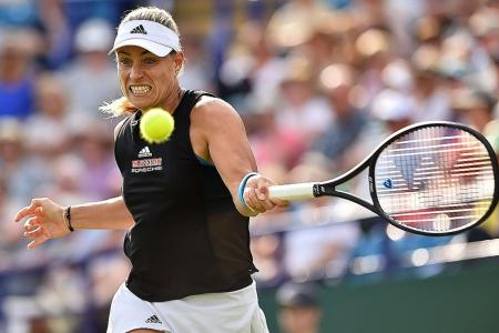 Angelique Kerber feels at home on grass, finds form ahead of Wimbledon