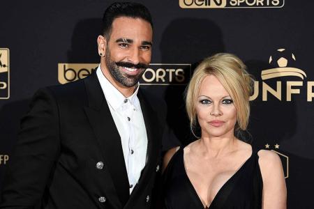 Pamela Anderson calls footballer ex a 'monster'