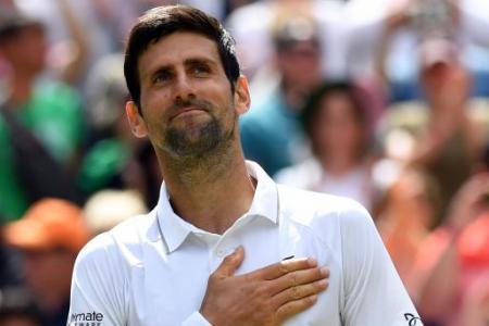 Novak Djokovic serves up a treat under new coach Goran Ivanisevic