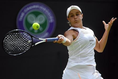 Ashleigh Barty stretches winning streak to a lucky 13