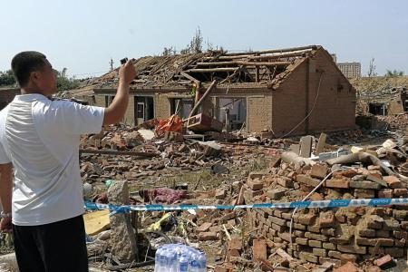 Six killed as tornado hits Chinese province of Liaoning