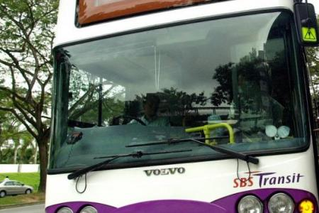 Man nabbed on bus for inappropriate behaviour