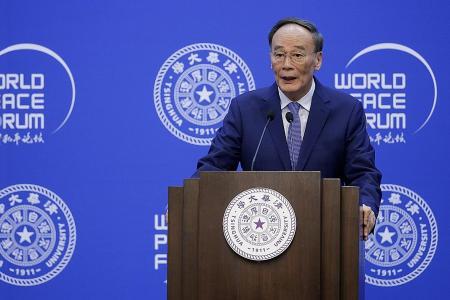 Chinese V-P: World cannot shut out China