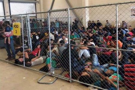 'Filthy, disease-ridden' migrant detention centres a hoax: Trump