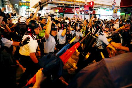 HK protesters moot Bank of China 'stress test' after latest clashes