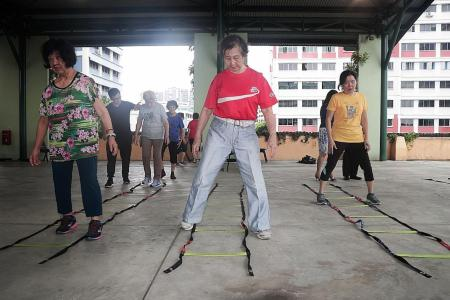 Exercise programme for senior citizens to be expanded