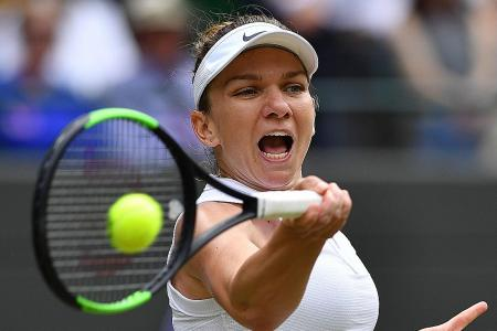 Simona Halep, Serena Williams set for collision course