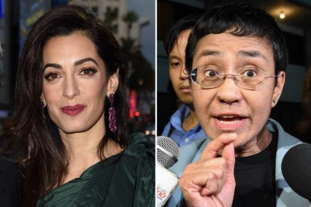Amal Clooney joins legal team defending Philippine journalist