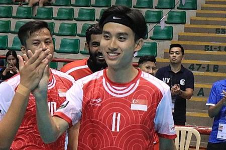 No celebrations after 13-1 win as Singapore focus on final