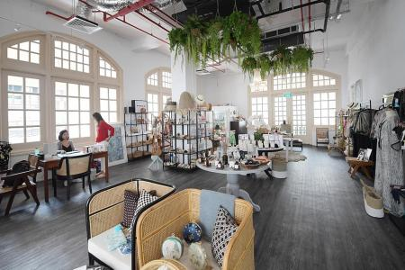 Raffle Hotel's shopping arcade reopens