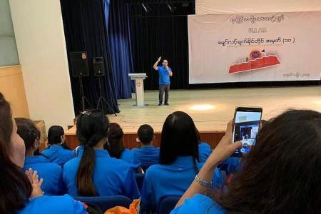Singapore deports Myanmar nationals