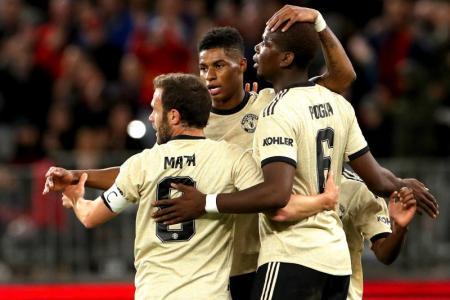 Pogba helps Man United win pre-season opener