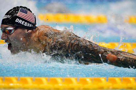 American swimmer Michael Andrew says 100m fly is anyone's game