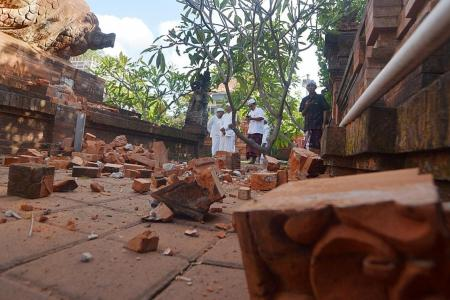 Bali earthquake sparks panic, damages buildings
