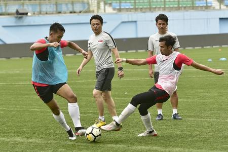 Singapore in tough group for World Cup qualifiers