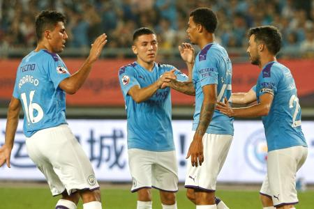 Manchester City in smashing start to pre-season