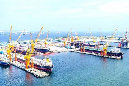 Sembcorp Marine does not not know why shares surged on Wednesday