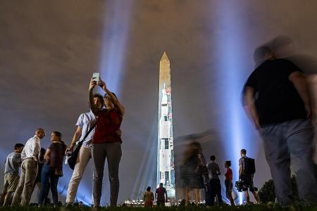 Space race heats up once again