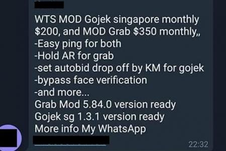 Private-hire drivers caught hacking Grab, Gojek apps