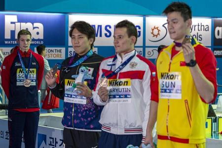 Another snub for Sun Yang after his 200m win