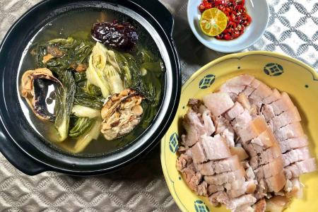 Enjoy home-cooked goodness with Chinese cabbage soup