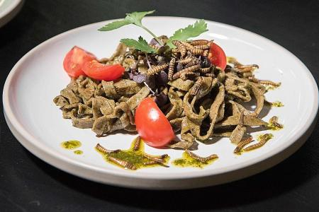 New Cape Town restaurant serves full insect menu