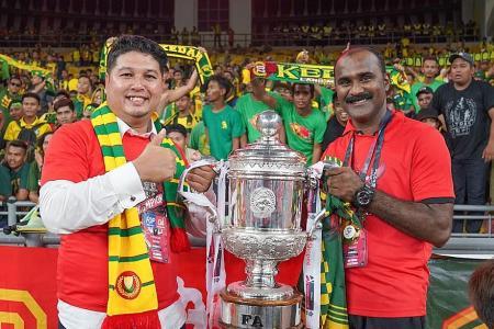 S$1-million windfall, open-top bus parade await FA Cup champions Kedah