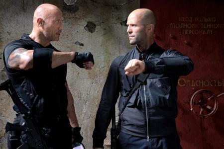The action gets more furious for Dwayne Johnson in Hobbs & Shaw