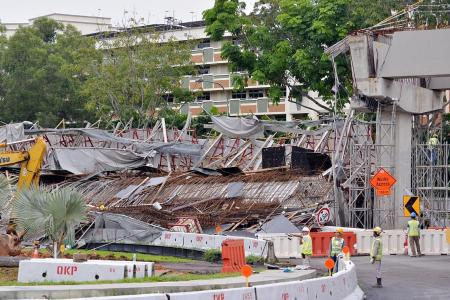 Structural cracks found month before fatal PIE viaduct collapse
