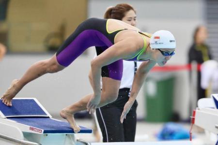 Quah Ting Wen goes under 25sec in women's 50m free