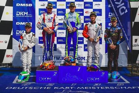 Singaporean, 12, wins karting race in Europe