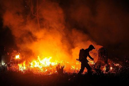 Joko threatens to sack officials over fires