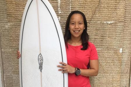 S'pore's surfers qualify for SEA Games despite lack of training venue