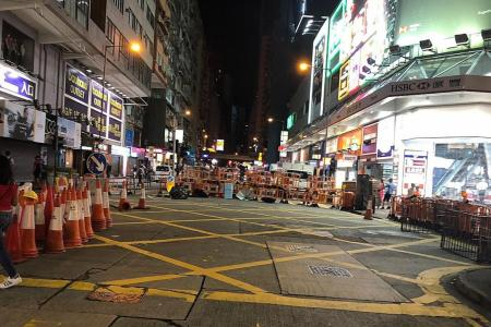 Singaporeans wary but unaffected by HK unrest