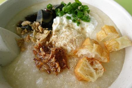 Makansutra: Cantonese porridge doesn't get more comforting than this